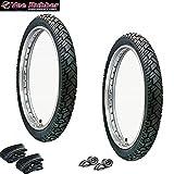 VEE RUBBER Reifen Set - 3,00 x 12 - VRM 094-42J - 6 Teile für Simson Roller SR50 SR80