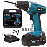 MYLEK® 18V Cordless Drill Driver with LED Work - Best Reviews Guide