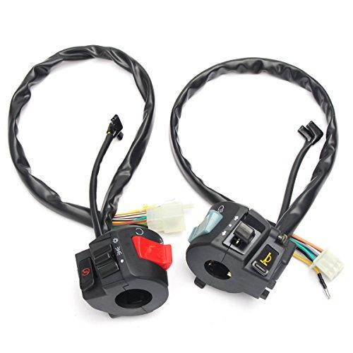 Alamor 7/8Cm Motorrad Atv Lenker Elektrische Start Schalter Horn Turn Signal Scheinwerfer