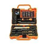 JAKEMY 45in 1jm-8139Edition Professional Mobile Phone und Tablet repair kit set für für PC, Laptop, Macbook, iPad, Tablet, Handy, PDA, Brillen, Uhren, Kameras, elektronisches Spielzeug und andere Geräte