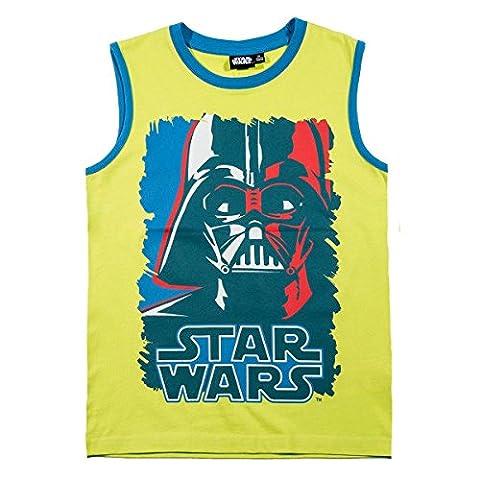 Débardeur enfant garçon Star Wars Vert anis de 6 à 12 ans - Vert, 9 ans