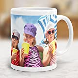 Drucksaal Tasse mit Foto Bedrucken Lassen/Fototasse Personalisieren/Kaffeebecher in Weiß Zum Selbst Gestalten ab 1 Stck.