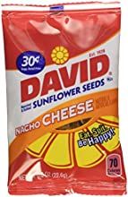David Sunflower Seeds 36-Bags Nacho,0.8oz. by DAVID Seeds