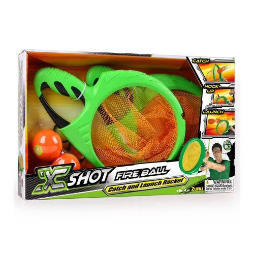 KLASSISCH Universal Trends X-shot palla di fuoco zu00133Ball Set con Catchers/lanciatori