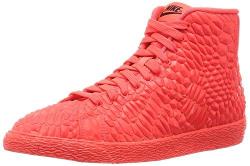 Nike Damen W Blazer Mid DMB Turnschuhe, Rot, Naranja (Brght Crmsn/Brght Crmsn-Brght), 38 EU (Blazer Frauen Nike Schuhe)