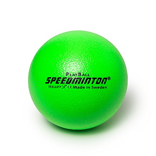 Speedminton Playball Schaumstoffball, Neon Grün, 16 cm