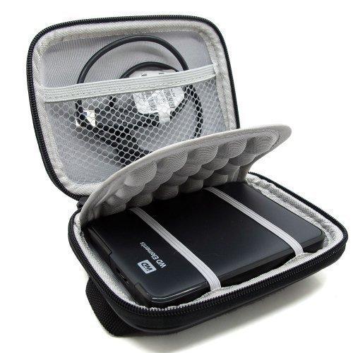 Markstore Case - Funda de disco duro (a prueba de golpes, 2.5'), color negro