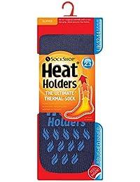 Heat Holders - Chaussettes basses -  - Uni Homme Multicolore Bigarré 6-11, 39-45