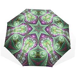 Paraguas de Viaje con Mandala Grande