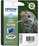Epson T0795 Tintenpatrone Eule, Singlepack cyan