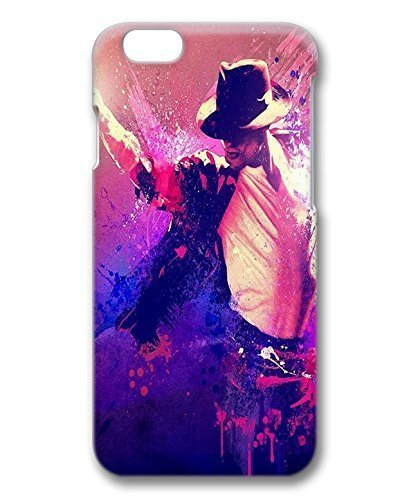 Michael Jackson rigida protettiva Snap on PC 3D custodia per iPhone 6 4, 7-1122025 da mcsharks