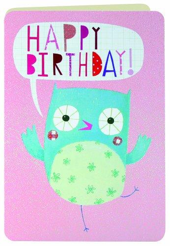 James Ellis Party Animals Eulen-Geburtstagskarte