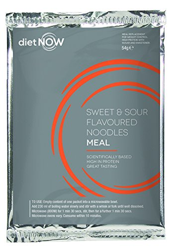 Diet Now Meal Replacement (10 Pack) (Sweet & Sour Noodles)