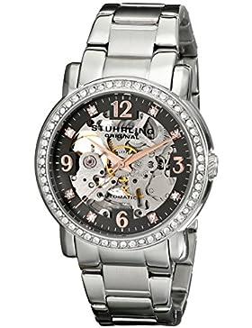 Stuhrling Original 531L.111154 Damen-Armbanduhr Analog Automatik Edelstahl