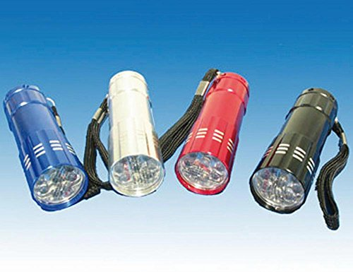 Taschenlampe, 12er-Display 9 LED