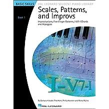 Hal Leonard escalas, patrones y improvs – Libro 1 Hal Leonard Student ...