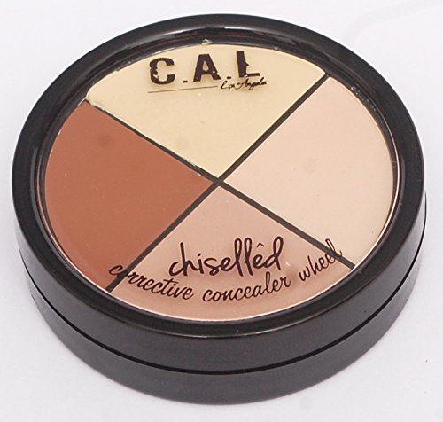C.A.L Los Angeles Chiselled Contour Corrective Kit 4 Shades (Set-2)
