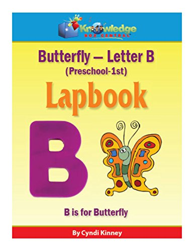 Butterfly Letter B: Plus FREE Printable Ebook (English Edition)