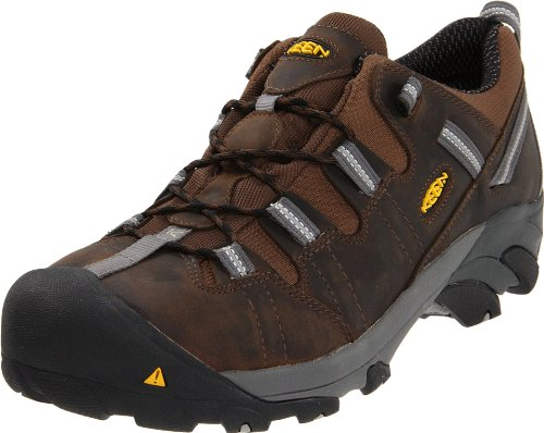Keen Utility Men's Detroit Low ESD Steel Toe Work Boot,Dark Brown,9 EE US (Keen-herren-detroit)
