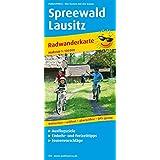 Spreewald - Lausitz: Radwanderkarte mit Ausflugszielen, Einkehr- & Freizeittipps, wetterfest, reissfest, abwischbar, GPS-genau. 1:100000