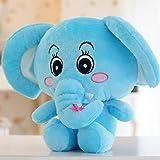 1pieza 30cm Elefante Doll Plush Toys mujeres niñas cumpleaños juguete