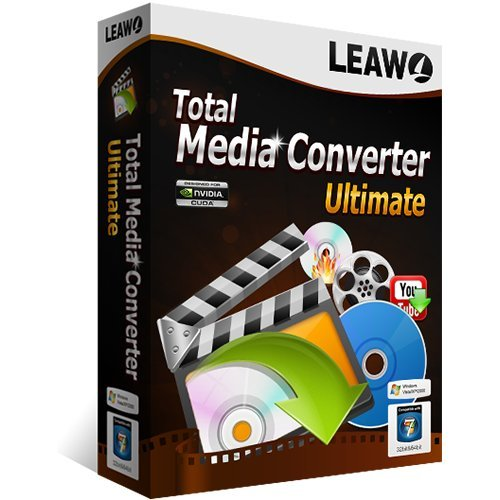 Leawo Total Media Converter Vollversion (Product Keycard ohne Datenträger) -Lebenslange Lizenz-