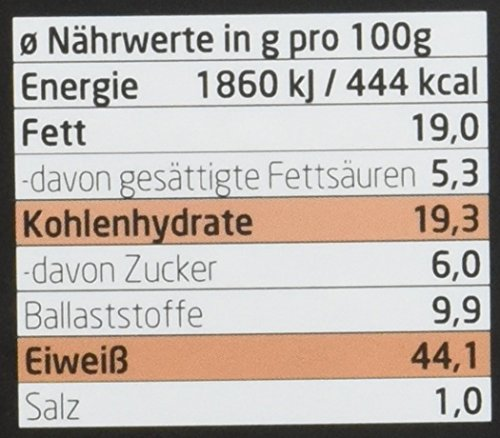 Layenberger LowCarb.one Protein Müsli Schoko-Nuss, 3er Pack (3 x 530 g) - 3