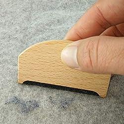 Rasoir à peluches en bois, tissu en cachemire pour pulls, démoulage, rasoir manuel, portable, entretien des vêtements