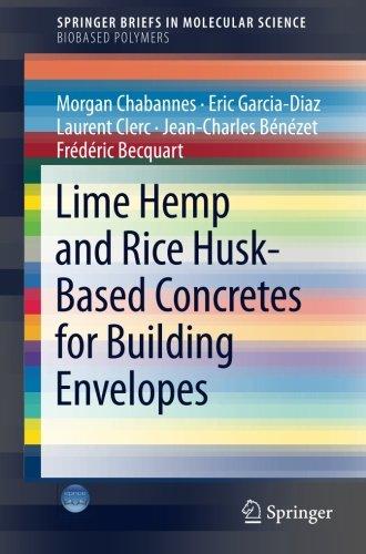 Lime Hemp and Rice Husk-Based Concretes for Building Envelopes (SpringerBriefs in Molecular Science)