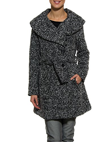 SMASH! - Sofie, Cappotto da donna, grigio (dark grey), L