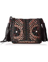 Antik Batik Ziggy Bag, Women's Cross-Body Noir