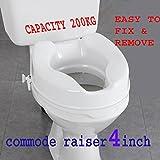 #7: commode raiser (4 inch)