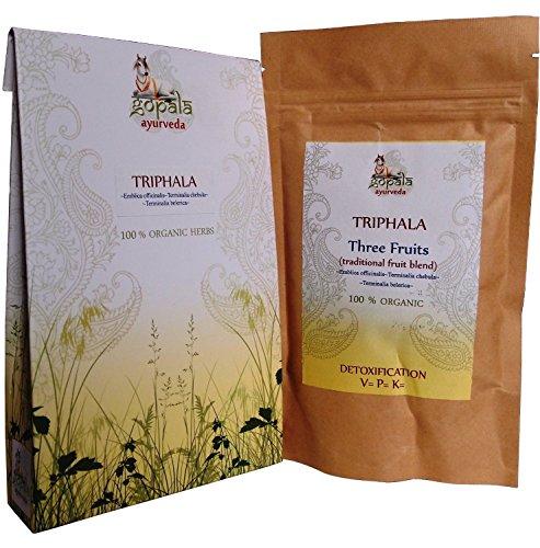 Capsule Triphala Bio (tre frutta) detossificazione Detox