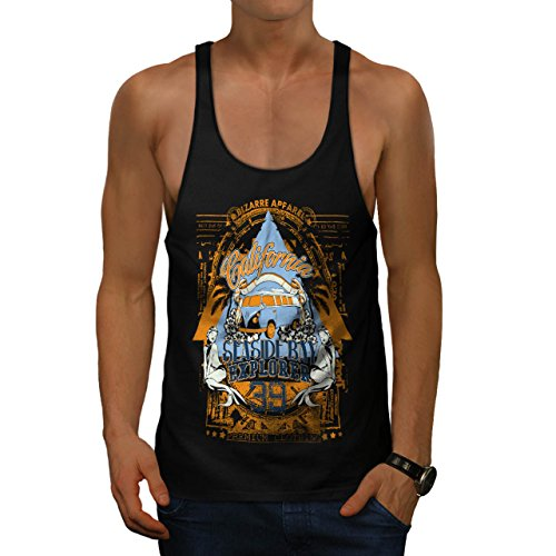 california-sea-side-bay-apparel-men-black-m-gym-tank-top-wellcoda