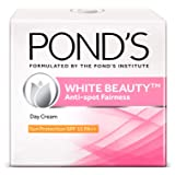 POND'S White Beauty Anti-Spot Fairness Day Cream, with SPF 15 Fades Dark Spots, Lighten Skin, Provides Sun Protection With Mo