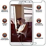 Gforce75 ✔Premium Gehärtetes HD+ Panzerschutz Schutzfolie für Samsung Galaxy Note 3 N9000 N9005 Displayschutz Panzerfolie - Tempered Protection Screen Glass