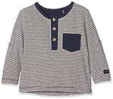Bellybutton Kids T-Shirt 1/1 Arm Maglietta a Maniche Lunghe, Multicolore (y/d Stripe 0001), 1 Mese Bimbo