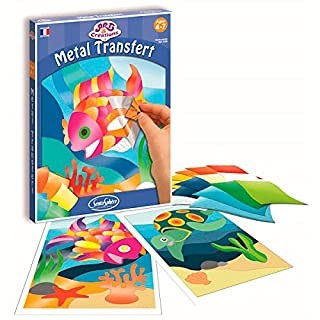 Sentosphere 03100–Art and Creations Foil Adhesive Pictures Underwater World–Craft Kit