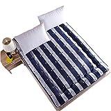 Streifen-Tatami-Boden-Matte / Matratzen-Boden-Boden-Schlafenauflage-Faltende Matratzenauflage-Deckel-Beleg-Weiche Superweichmatratze Futon-Matratze Perfektes Lese-Und Beobachtungsfernsehen-Kissen,180X200CM