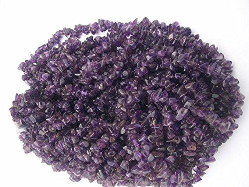 Vera ametista viola uncut rough naturale della pietra preziosa perline 5mm-7mm filo di 86,4cm.