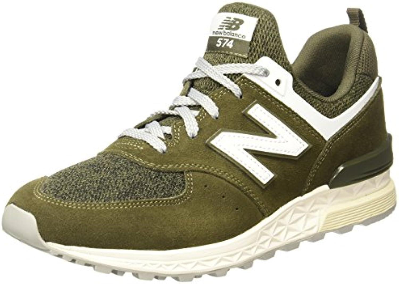 New Balance Men's 574 Sport Olive Sneakers