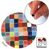 Mosaik-Minis (5x5x3mm), 500 Stück, Buntmix, MXAL
