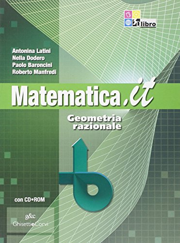 MATEMATICA.IT GEOM.RAZ. +CD