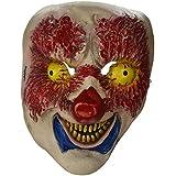 Widmann 00363-Máscara de Payasos Horror Por Viso en Talla Única de Adulto.