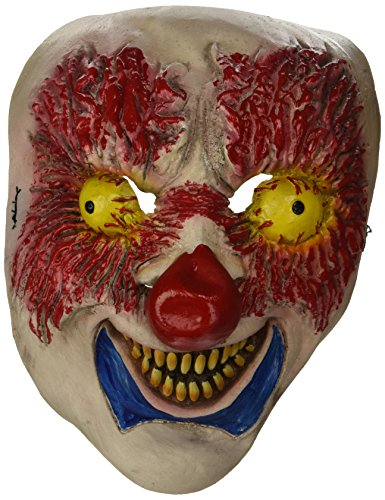 er Maske Clown Face Erwachsene One Size ()