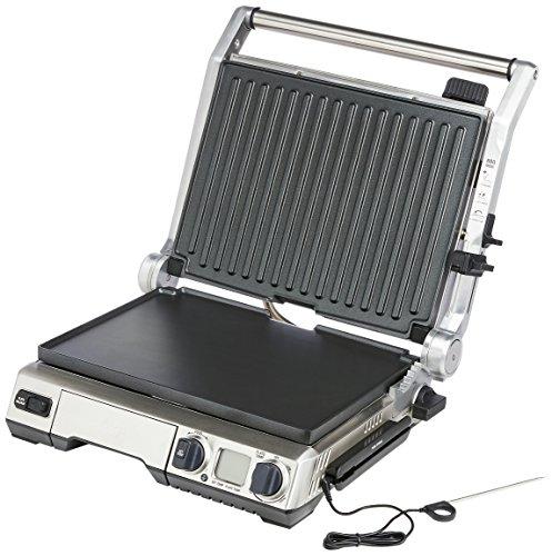 Sage Appliances SGR840BSS4EEU1 Smart Grill Pro Kontaktgrill