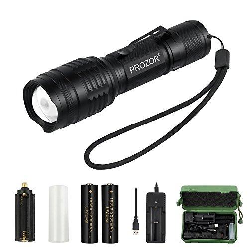 PROZOR CREE LED Linterna Handheld Super Brillante...