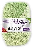 Woolly Hugs Year Socks Fb. 05 Mai, 100g Sockenwolle mit dezentem Degradé Farbverlauf