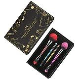 IFM TOOLS Pinceles de Maquillaje Set de 8 Pinceles Profesionales de Doble Terminación para Pinceles Cosméticos, Base de Sombra de Ojos, Brocha para Base de Maquillaje de Crema Líquida