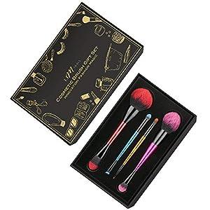 Makeup Brush Set, IFM TOOLS Makeup Brushes, Double Ended Professional Cosmetic Kit with Foundation Brush Powder Brush Eyeliner Brush Eyeshadow Brush Set with Carry Case & Gift Box